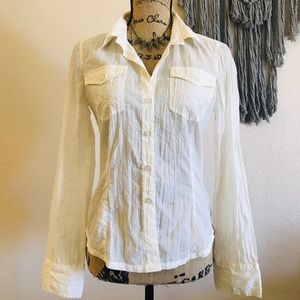 ☾ DKNY Button Down Shirt